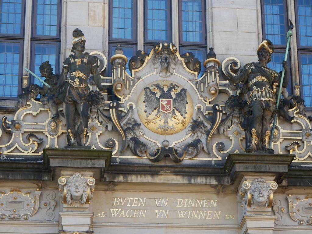 Gebäude mit Denkmalschutz Bremer Schütting
